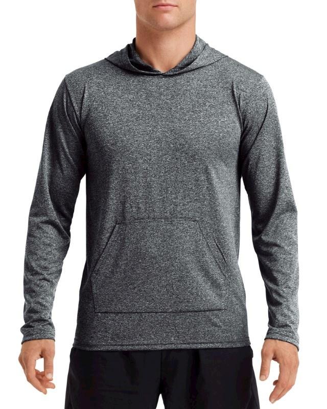 Gildan T-shirt Hooded Performance Adult LS
