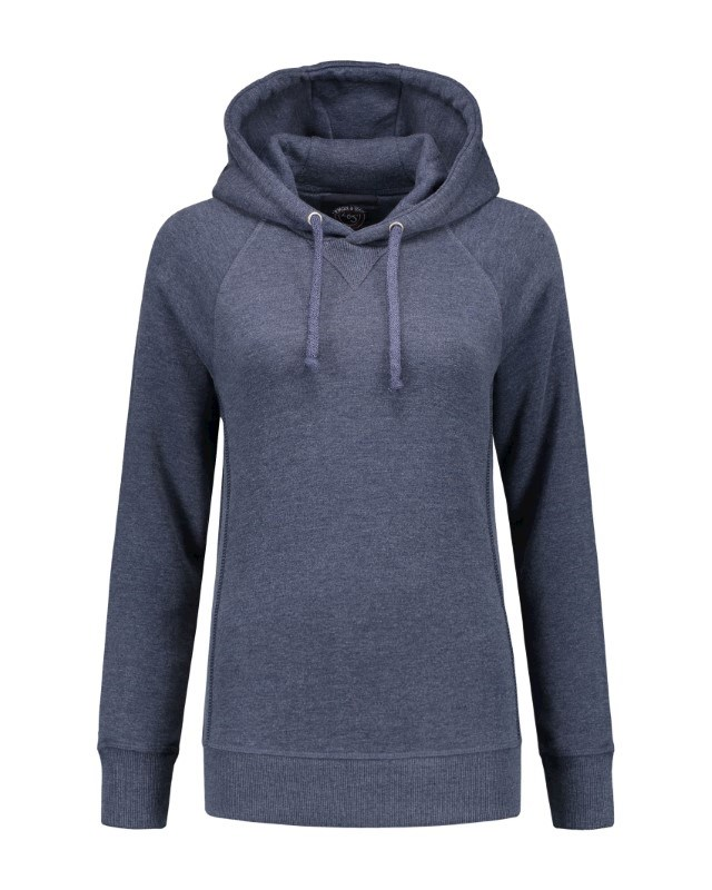 L&S Heavy Sweater Hooded Raglan for her