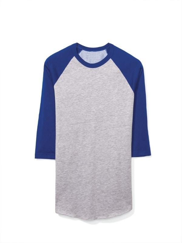 AMA T-shirt Pol/Cot 3/4 Raglan Sleeve