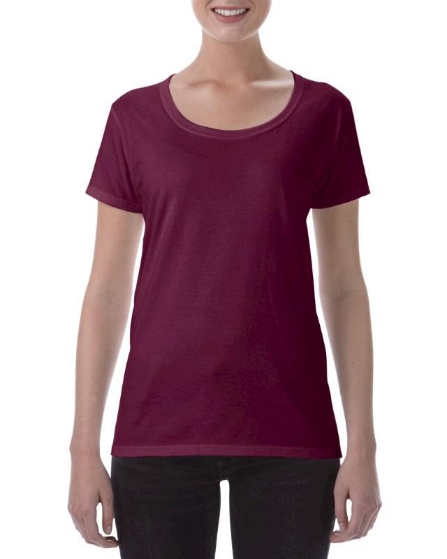 Gildan T-shirt Deep Scoop SoftStyle SS for her