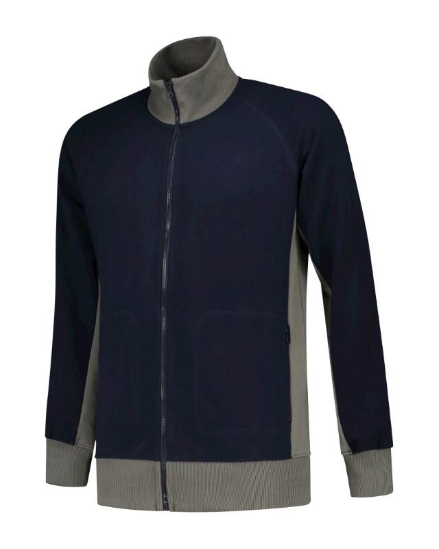 L&S Sweater Cardigan Workwear