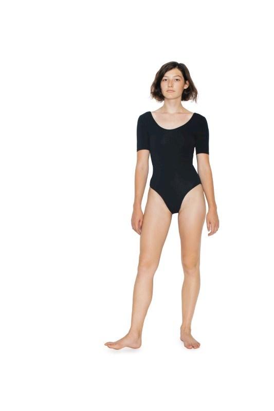 AMA Bodysuit Cot/Spandex SS
