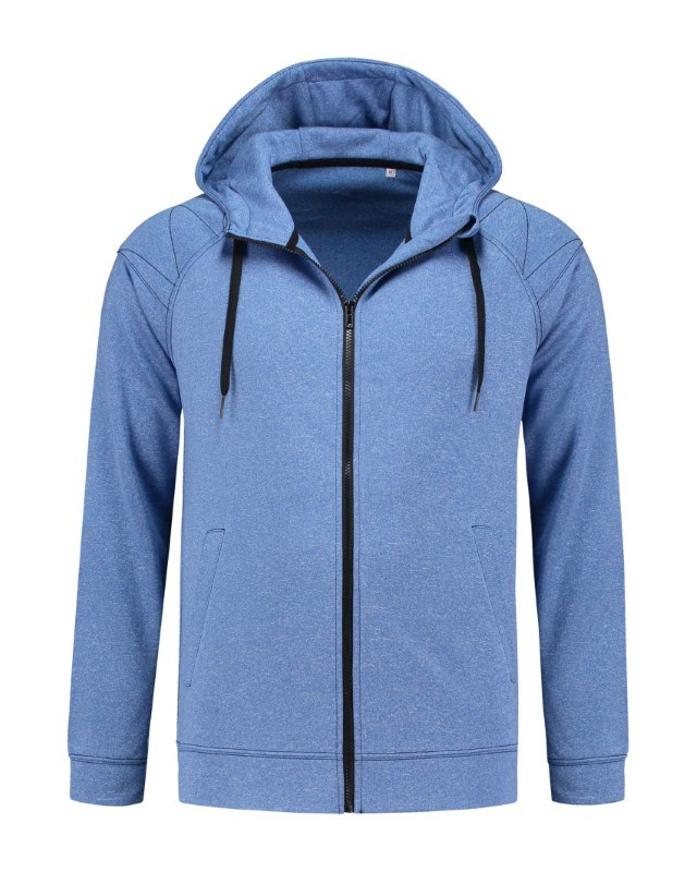 Stedman Sweater Hooded Zip Performance for him