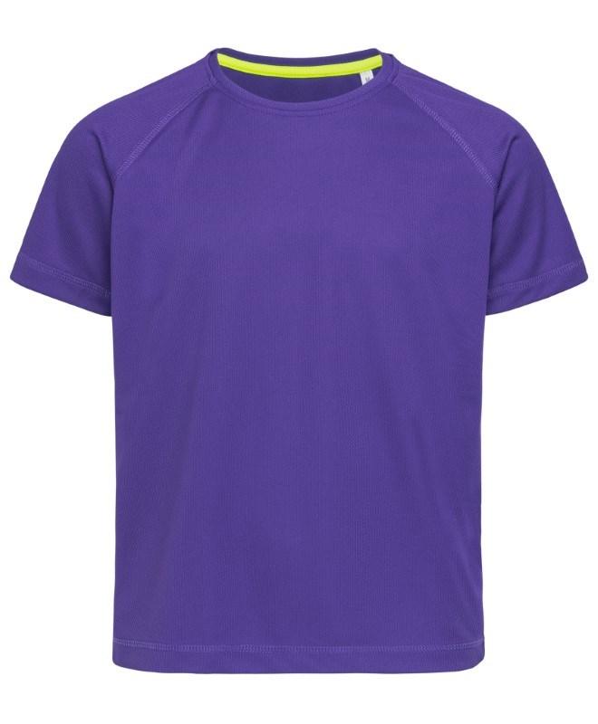 Stedman T-shirt Raglan Mesh Active-Dry SS for kids
