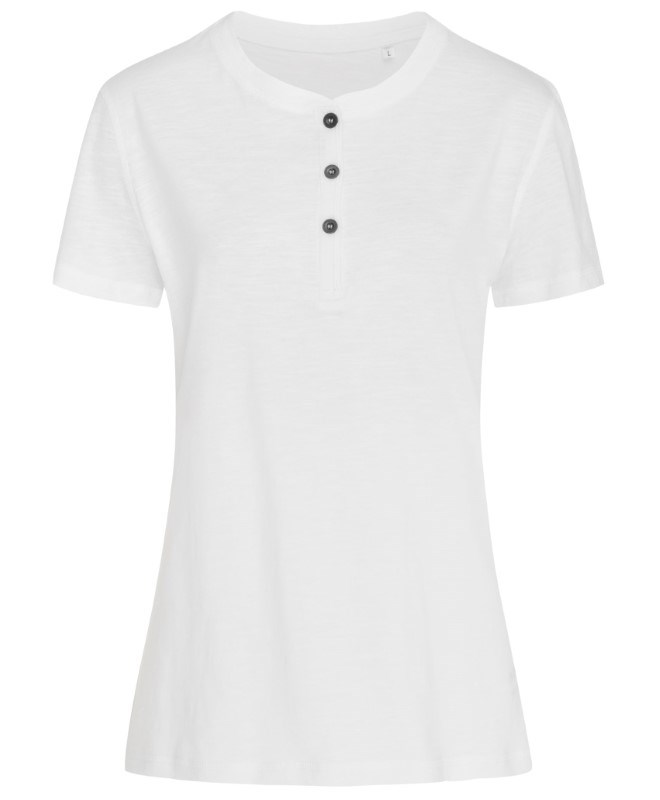 Stedman T-shirt Henley Sharon SS for her
