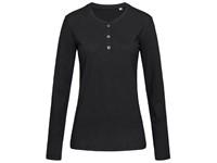 Stedman T-shirt Henley Sharon LS for her
