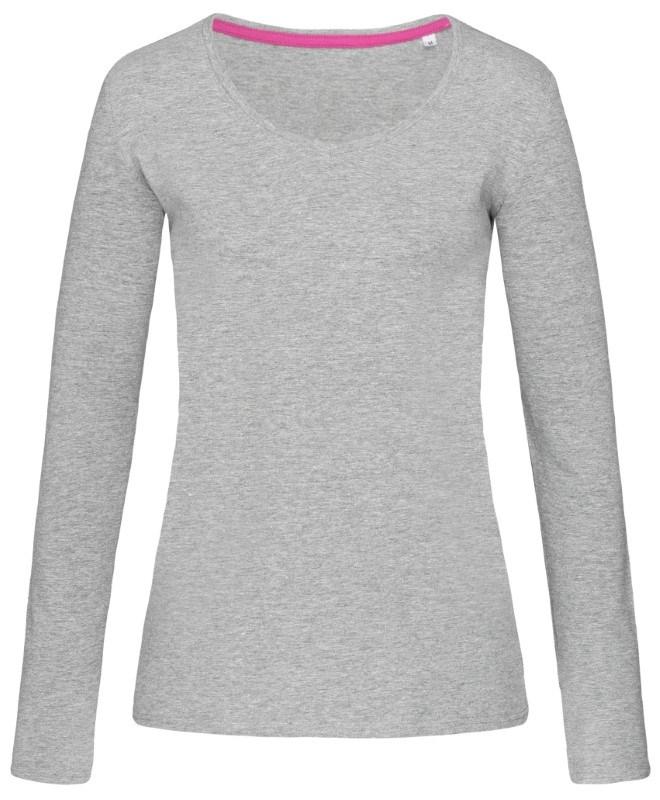Stedman T-shirt V-neck Claire LS for her
