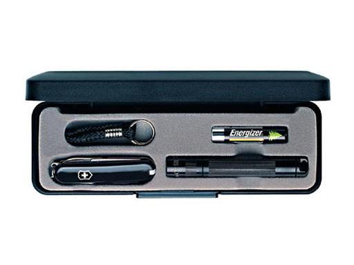 Maglite Set Solitaire + Victorinox Classic SD