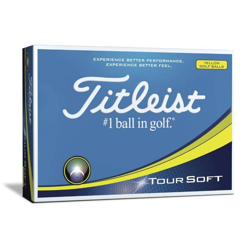 Titleist Tour Soft Yellow