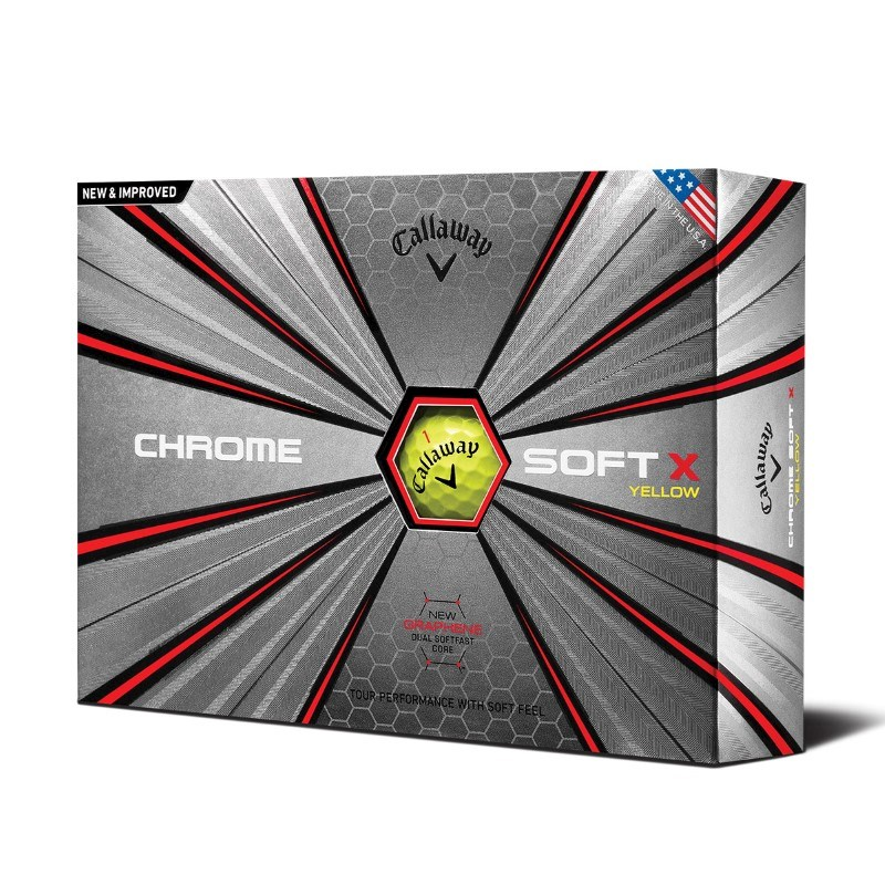 Callaway Chrome Soft X 18 Yellow