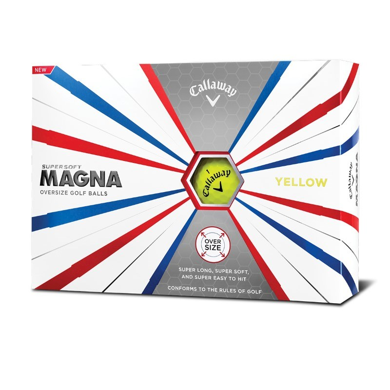 Callaway Supersoft Magna yellow