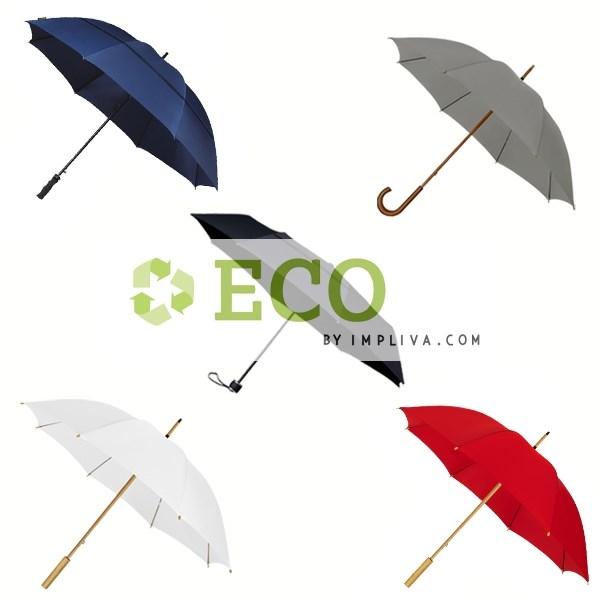 ECO by IMPLIVA, samplepack, windproof, 4 modellen, 5 kleuren