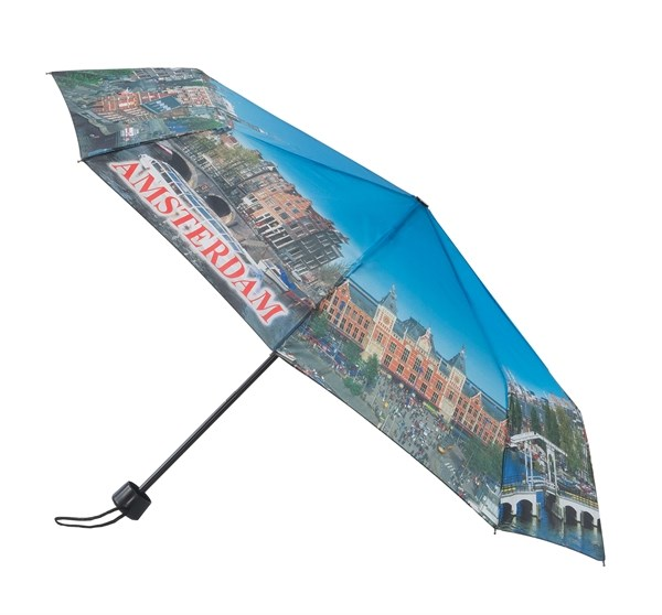 opvouwbare paraplu, A'dam bezienswaardigheden