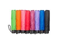 opvouwbare paraplu, wisselende kleuren, assorti