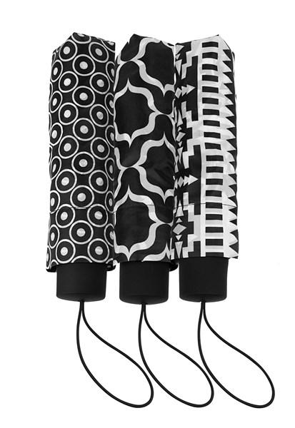 Falconetti® opvouwbare paraplu, dessin, ass.