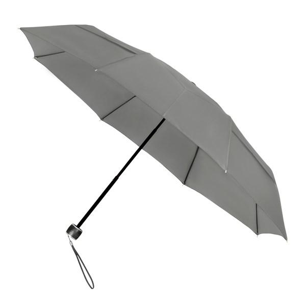 ECO by IMPLIVA, opvouwbaar, windproof, Ø100 cm, grijs