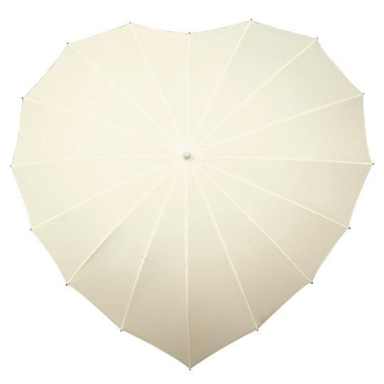 paraplu, hartvormig, windproof