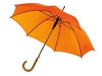 Autom.woodenshaft umbrella
