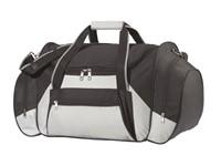 Travel bag,600-D,'Island',black/grey