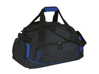 Sports bag'Dome'600-D, black/blue