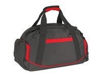 Sports bag'Dome'600-D, black/red