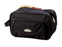 Toilet bag,600-D,'Laser Plus' black