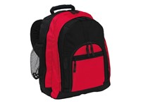 Rucksack 'NEW CLASSIC' 600D, black/red