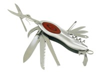 11-pcs. pocket knife
