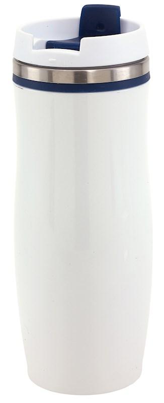 Flask 'Crema', navy blue