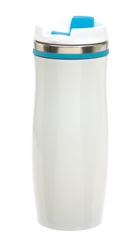 Flask 'Crema', light blue
