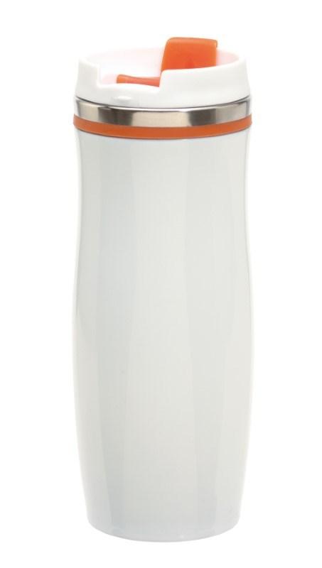 Flask 'Crema', orange