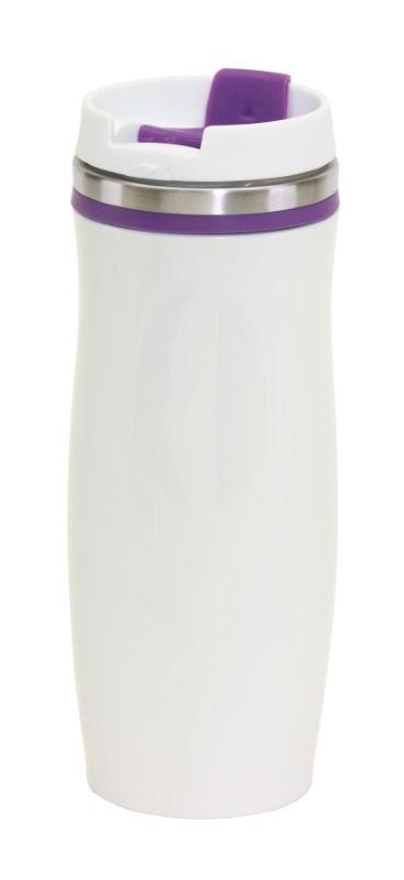 Flask 'Crema', purple