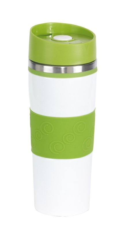 Flask 'Arabica', light green