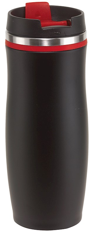 Flask 'dark Crema', red