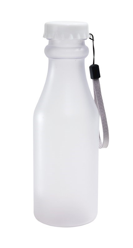Bottle white (frosted)