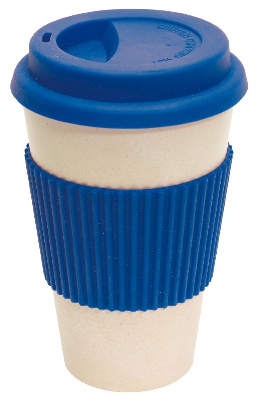 coffee mug , 400ml blue