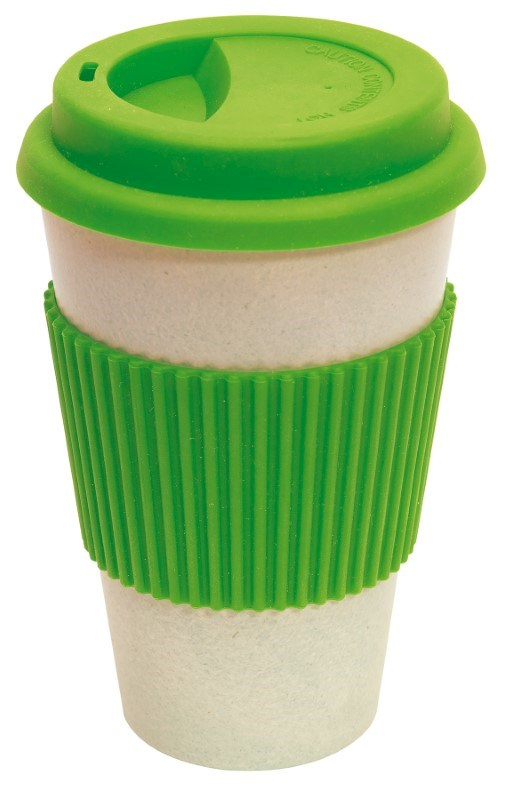 coffee mug 400ml apple green