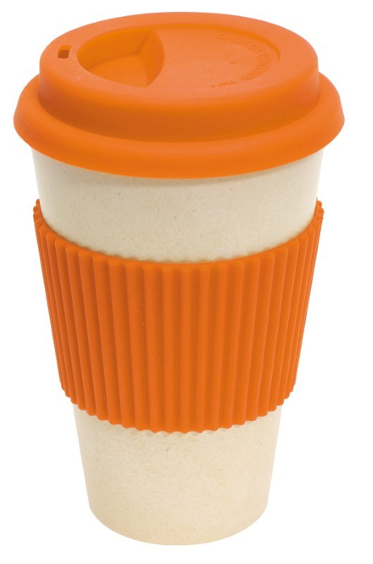 coffee mug , 400ml orange