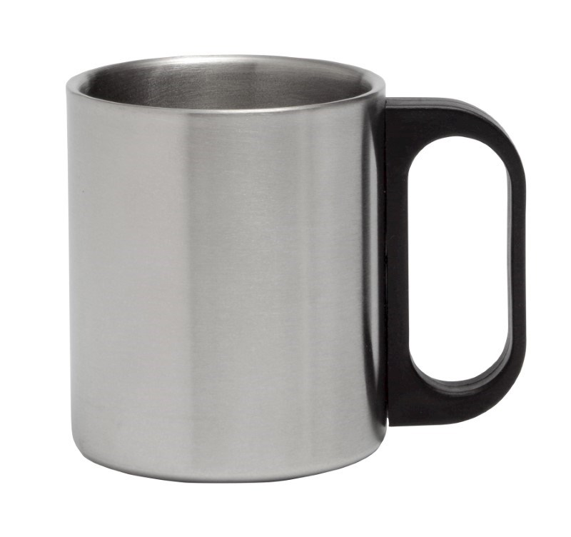 Mug 6,4 oz, stainless steel