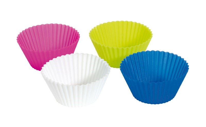 Silicon - Baking form, 4 pcs.