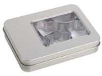 Koekjesvorm-uitsteekset COOKIE BOX, zilver