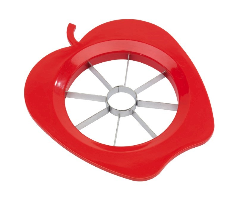 "Apple cutter ""Split"", red"