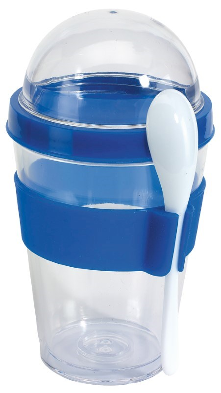 Yogurt Parfait Storage Set, Blue