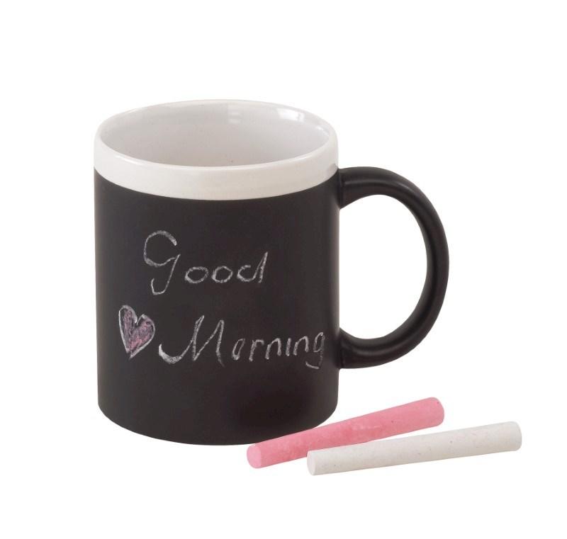 mug with chalk