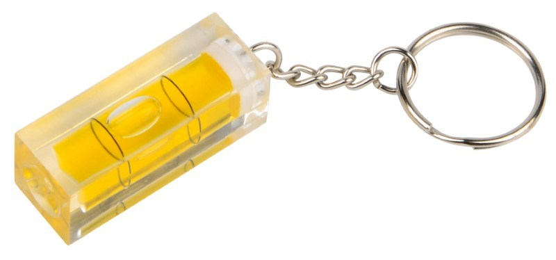 Water level with keyring,transparent