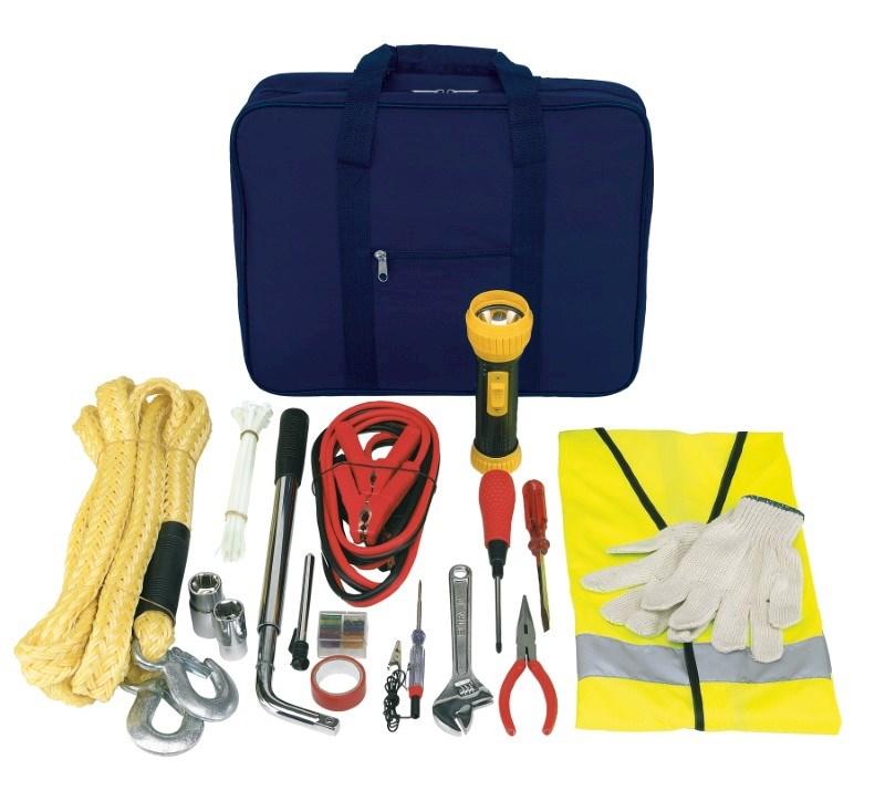 Emergency kit; big; blue