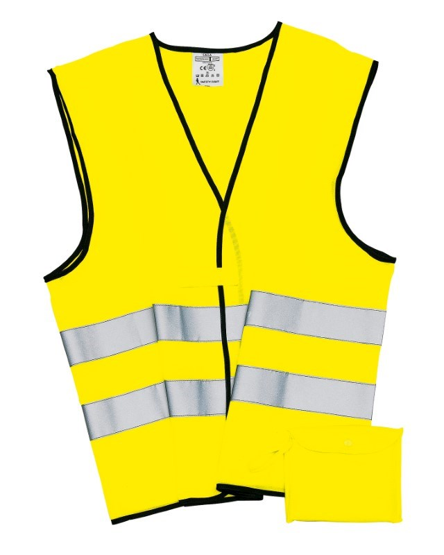 Emergency vest, neon yellow