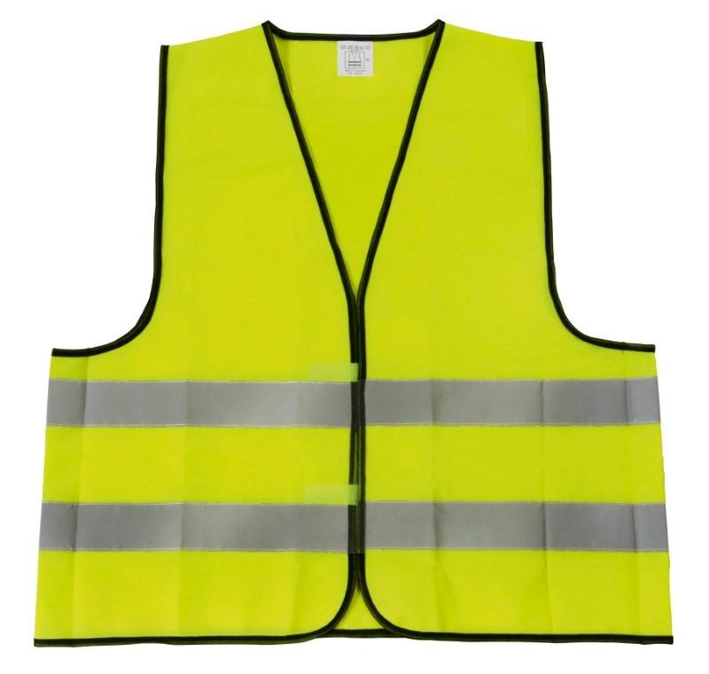 Emergency vest, neon yellow