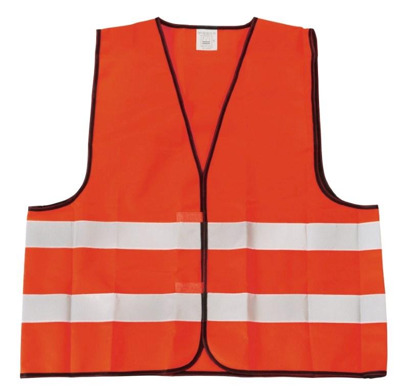 Emergency vest, neon orange