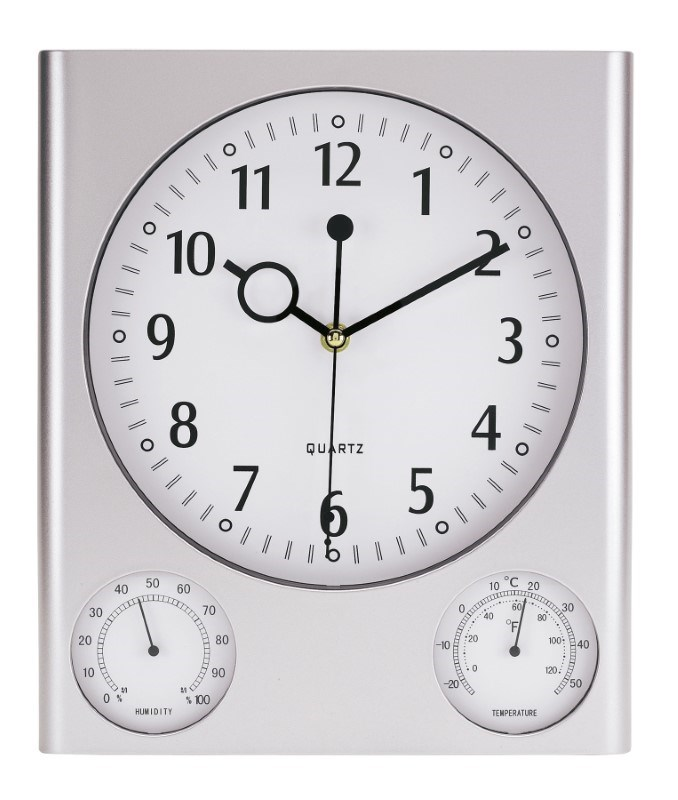Wallclock Hygro-/ thermom.,